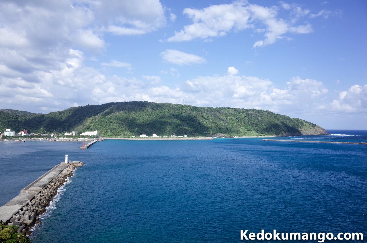 山羊島展望台からの風景
