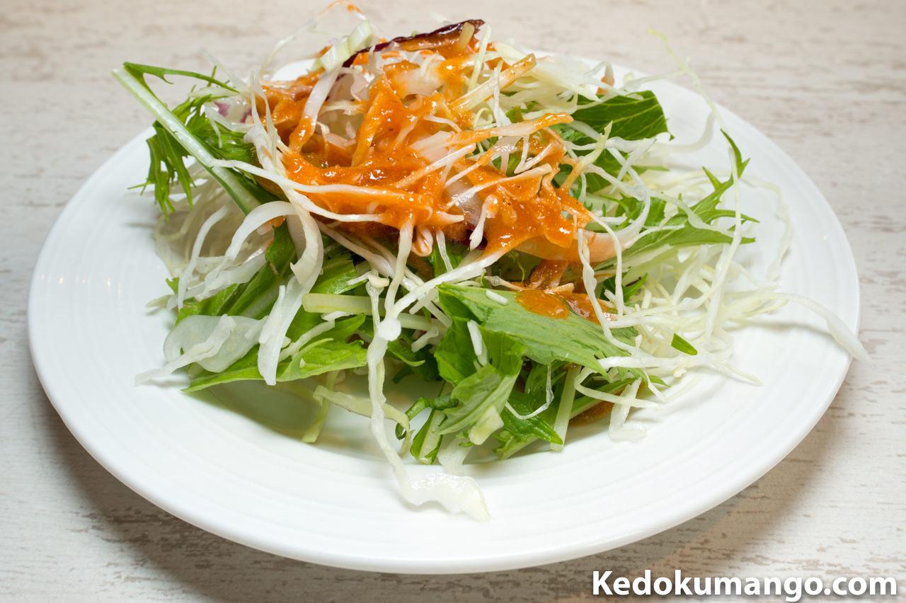 「ブルックリン・テーブル」のサラダ