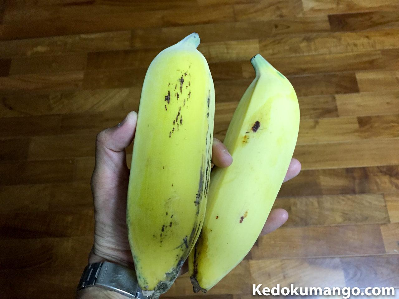 頂いたアメリカバナナ