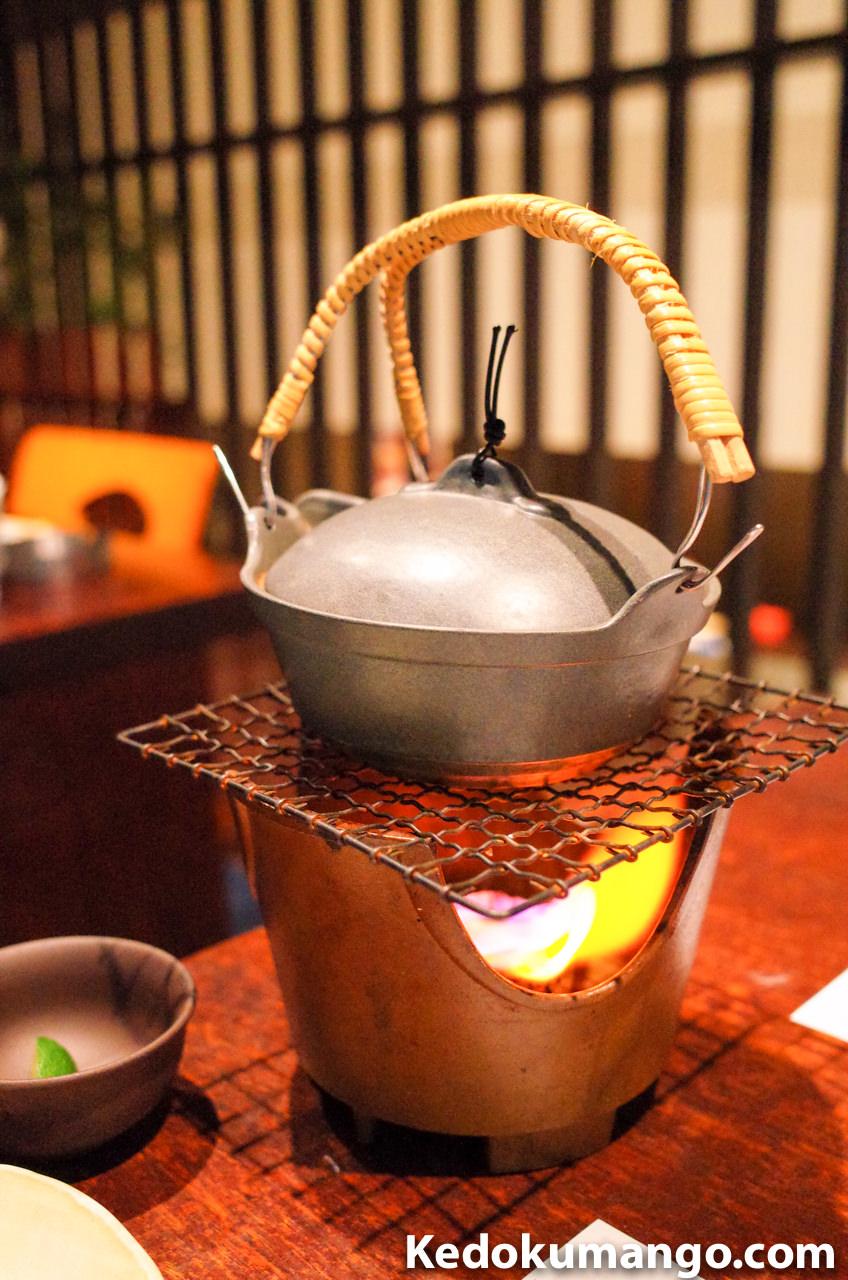 松茸の土瓶蒸
