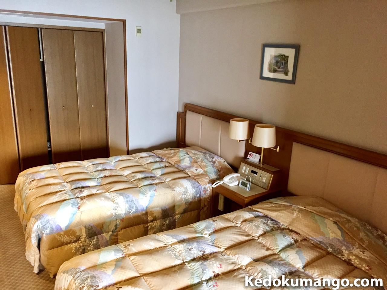 大黒リゾートホテルの和洋室