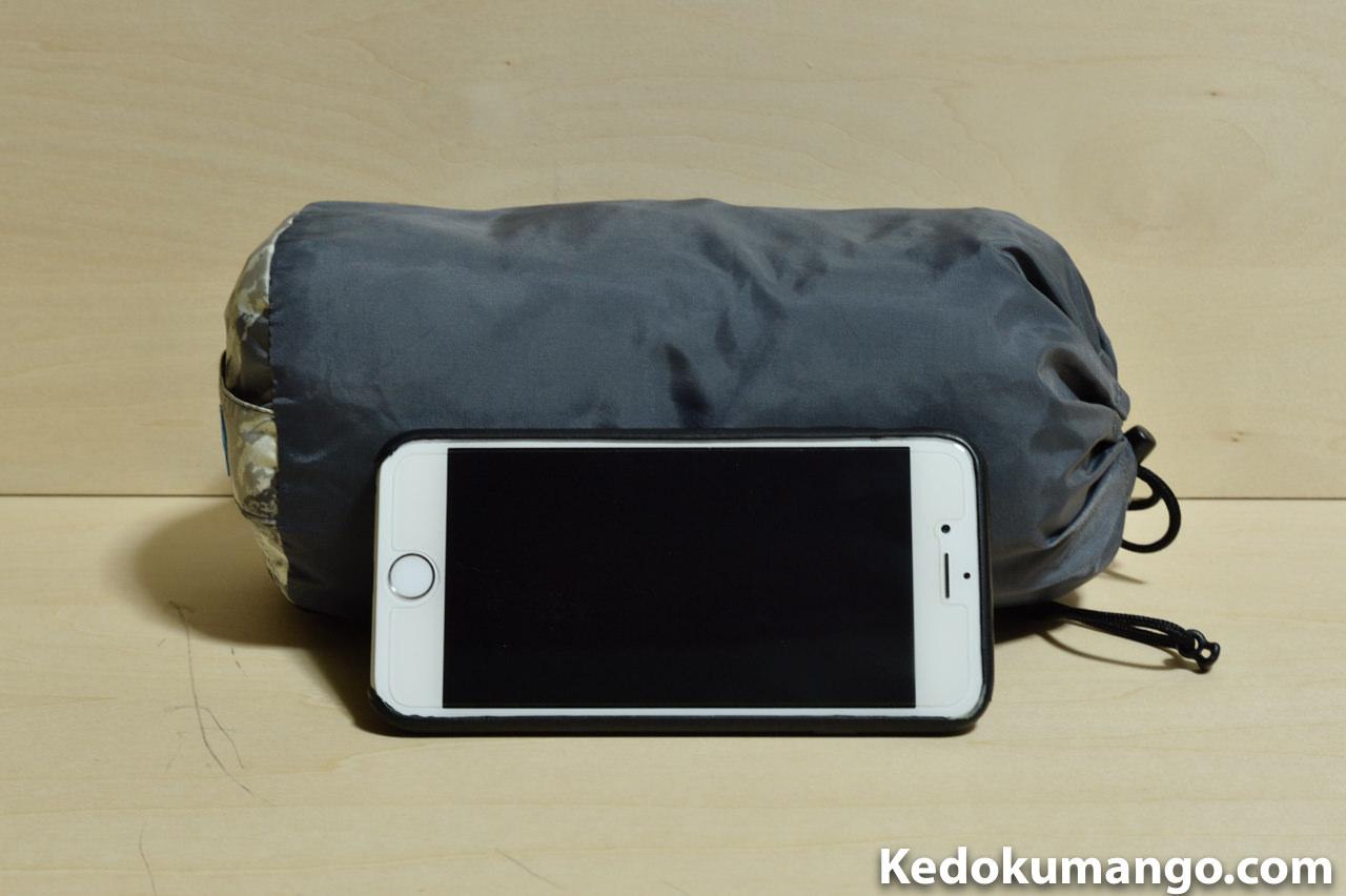 iPhone6とレインウェア