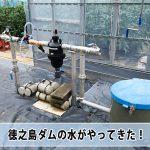 農業用水として建設された【徳之島ダム】の水がやってきた!