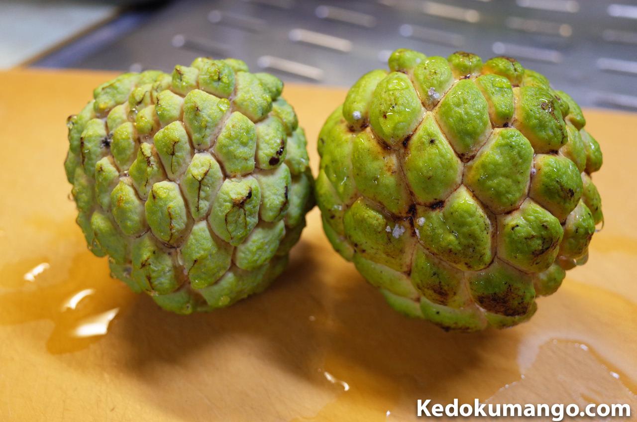 「釈迦頭(しゃかとう)」の果実