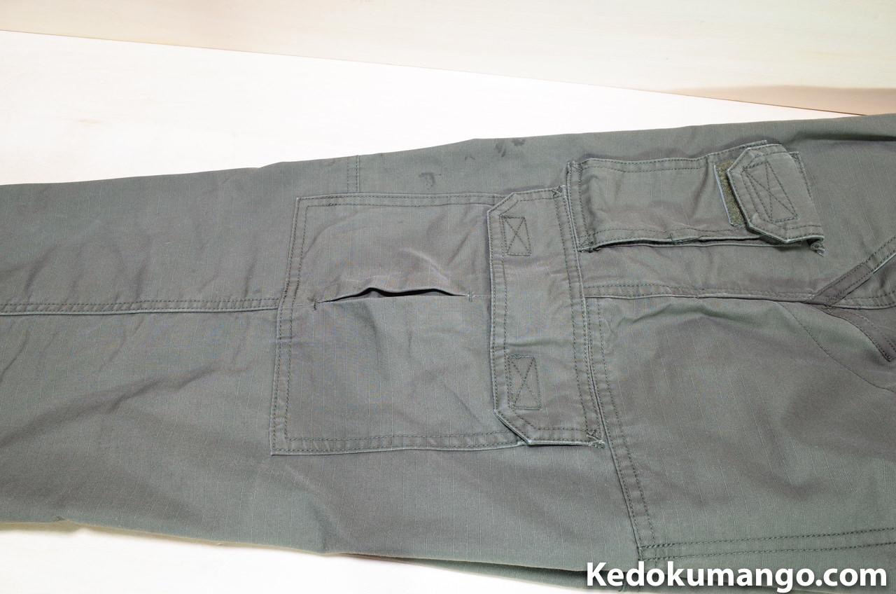 5.11のサイドポケット