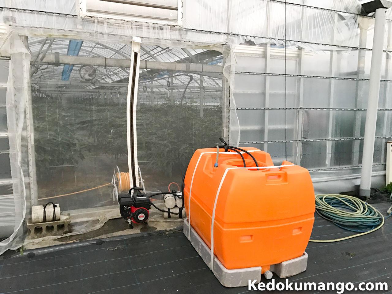液肥を散布する道具