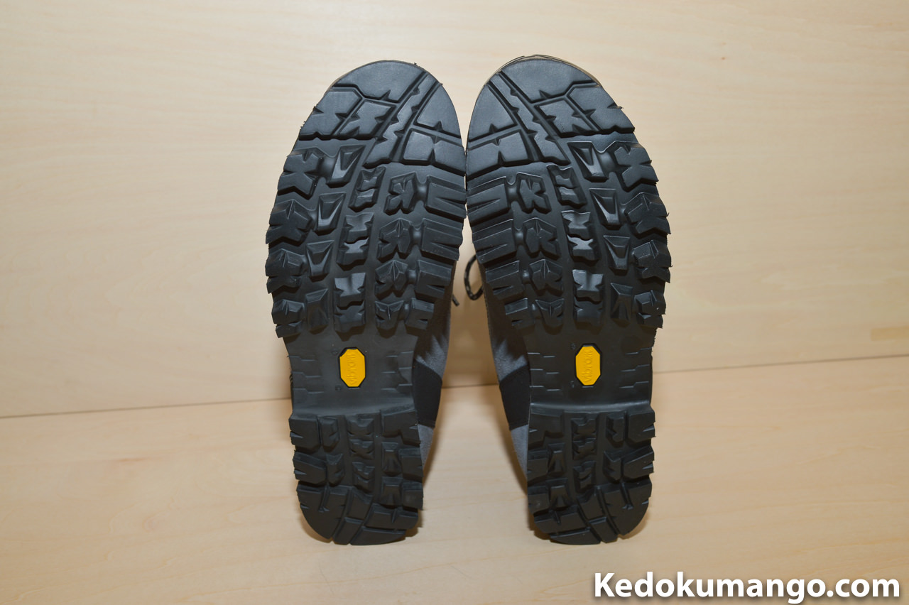 キネシスGTXの靴底