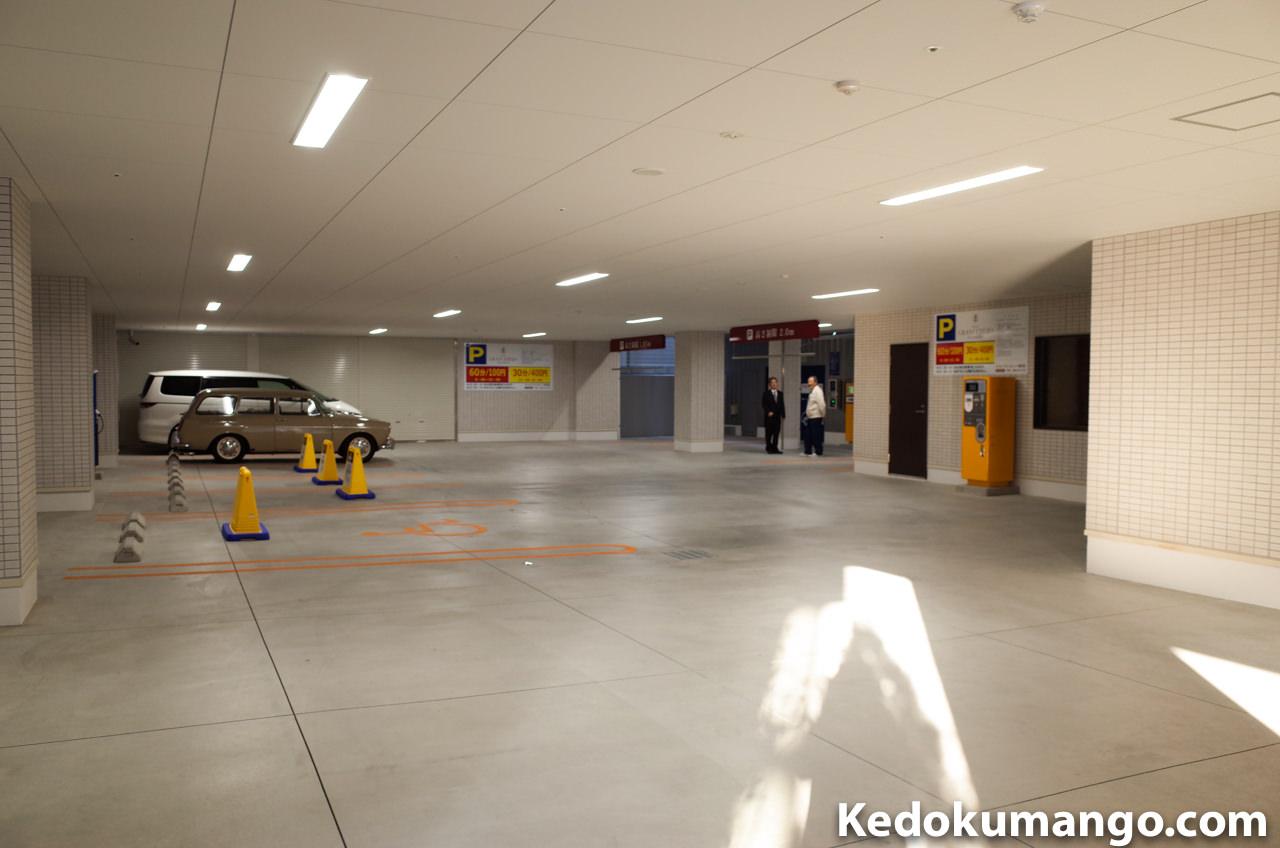 グランセレッソ鹿児島の駐車場