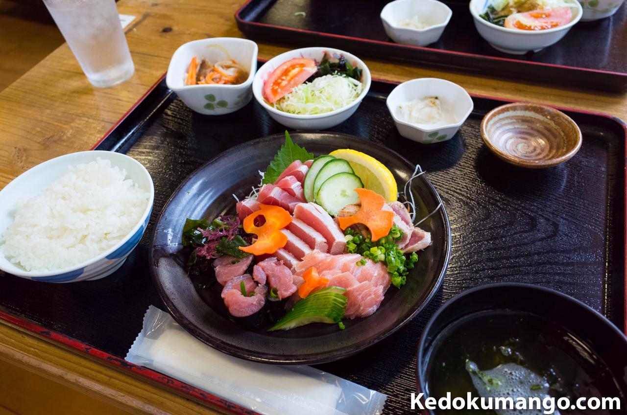 秋太郎の刺身定食