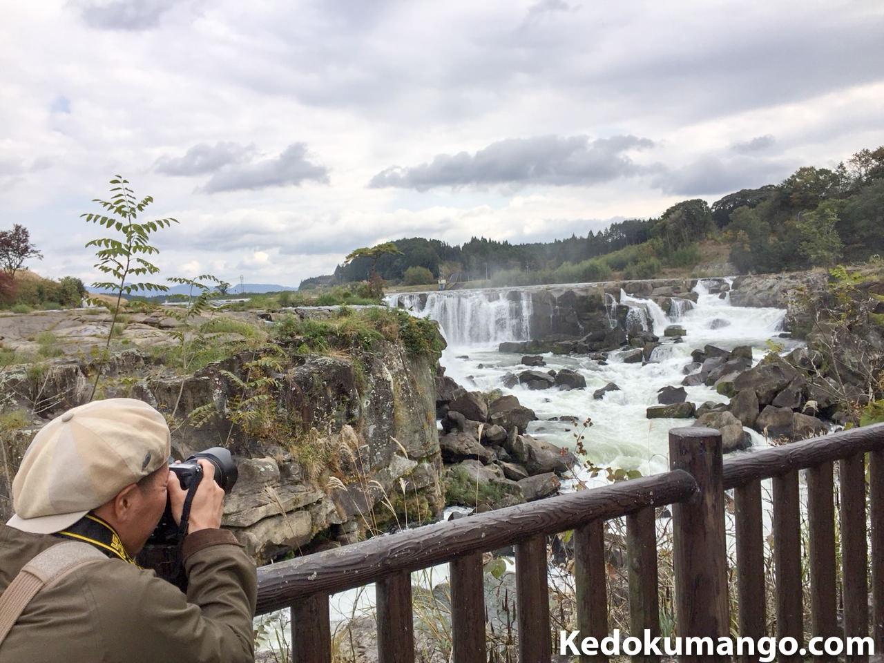 滝の撮影スポットについて