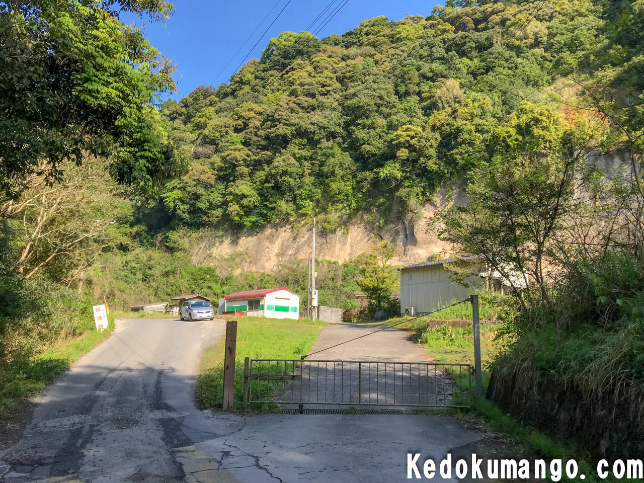 鹿児島射撃場のゲート
