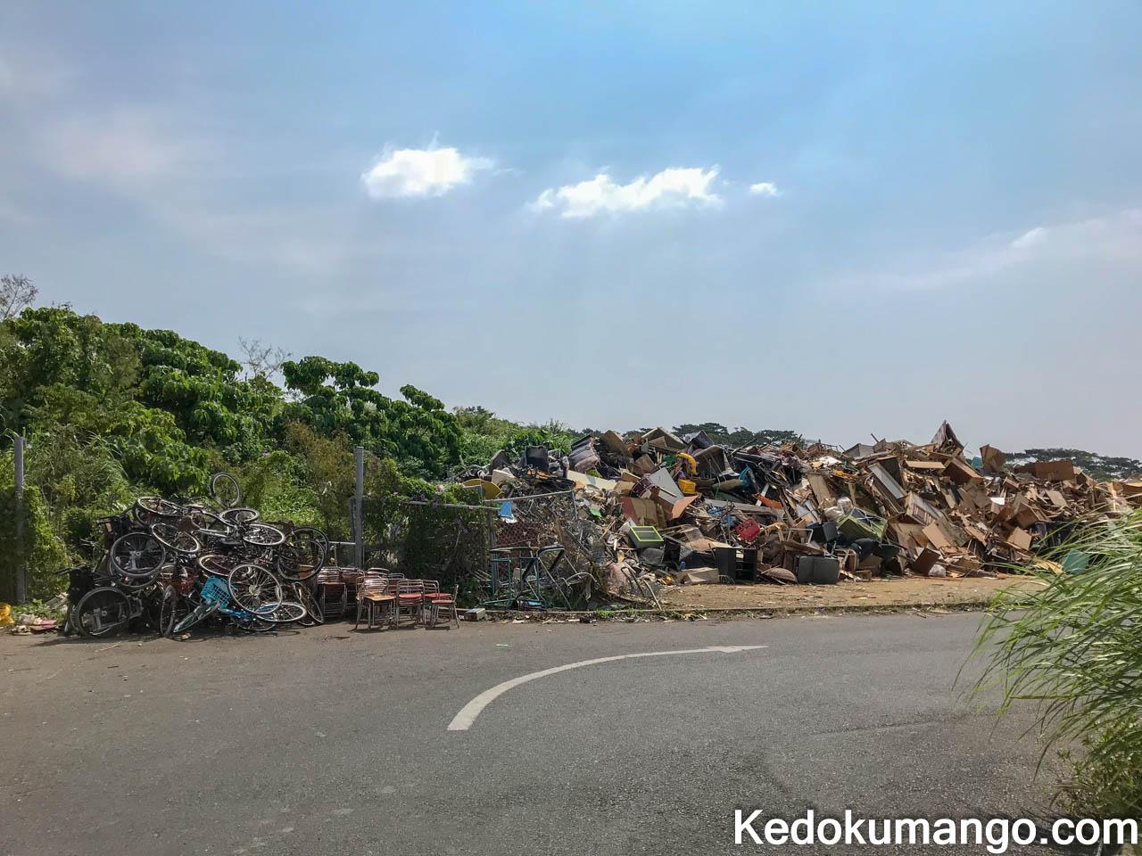 大型ゴミの処分場所