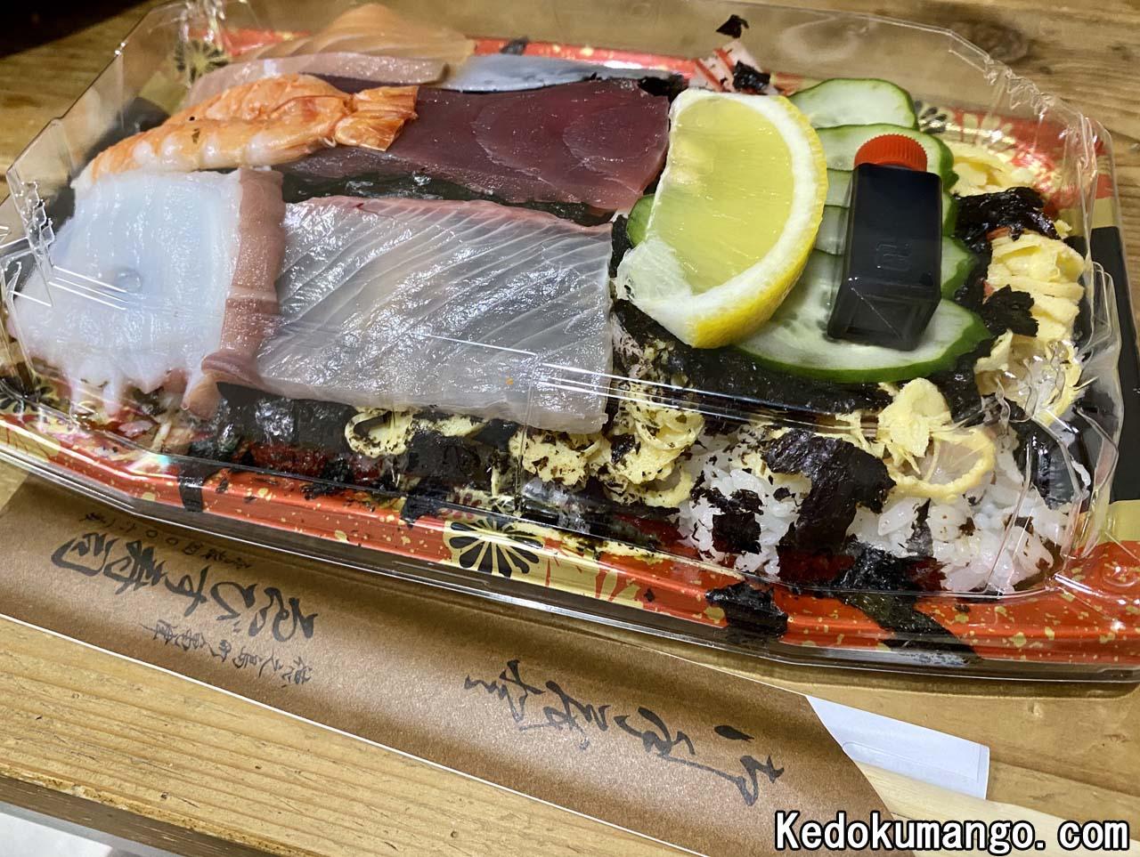 えびす寿司のちらし寿司